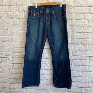 TRUE RELIGION Blue Billy Bootcut Jeans
